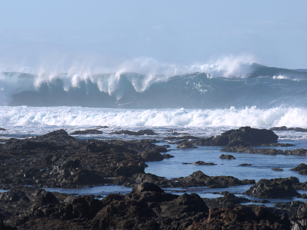 Winter Waves on Tenerife's North Coast