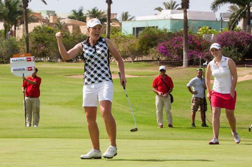 Stacey Keating wins Spanish Open in play-off