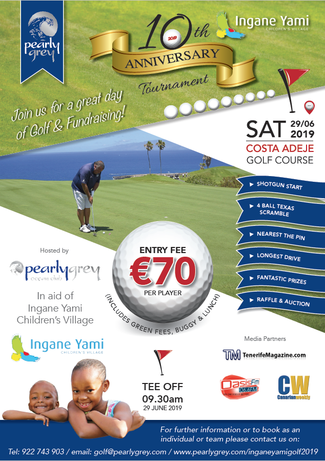 10th Edition Of The Excellent Ingane Yami Golf Day Announced