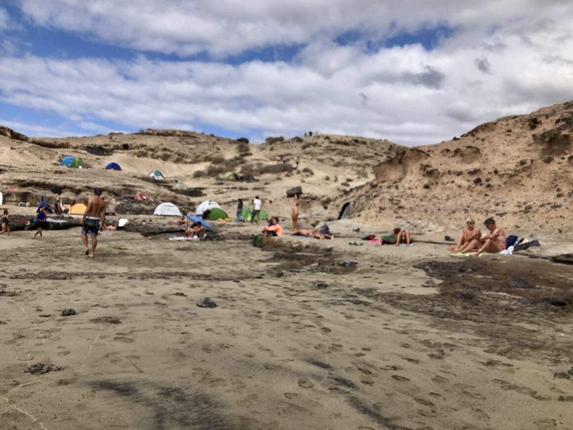 Hippie Beach La Caleta – Adeje, Tenerife South