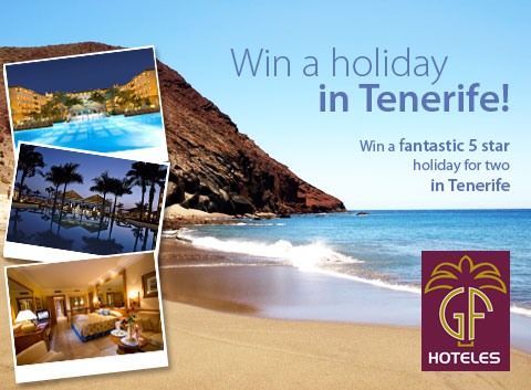 win a free holiday in tenerife with gf hotels tenerife magazine